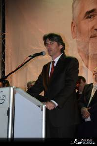 Ziadin Sela of ADP in the lead for Mayor of Struga, Photo by Ermir Korça.